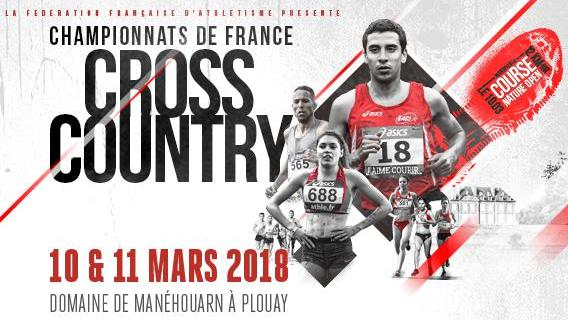 Championnats de France de cross country à Plouay