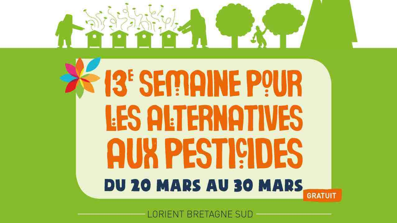 Affiche semaine alternatives aux pesticides