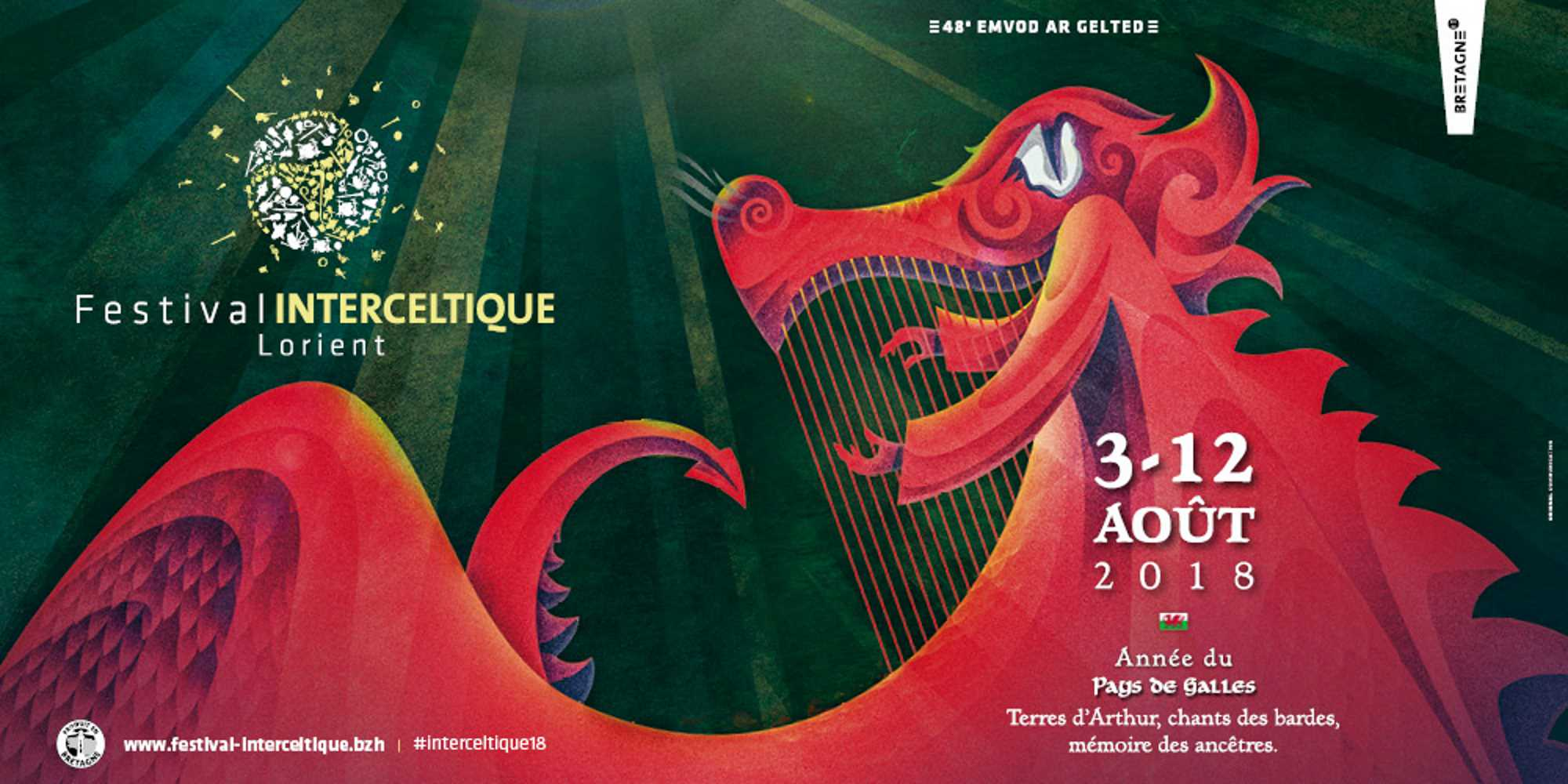 Visuel Festival Interceltique Lorient 2018
