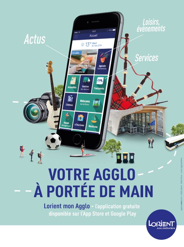 Application mobile « Lorient mon Agglo »