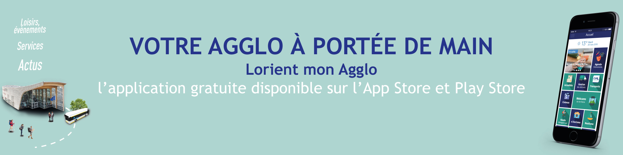 Application mobile Lorient mon Agglo
